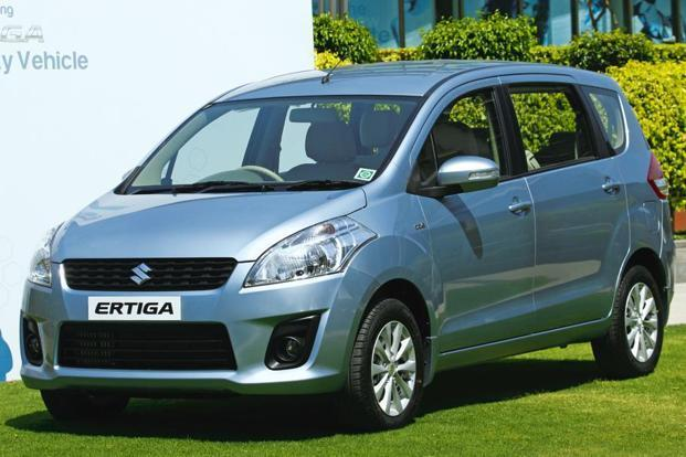 Tweaked version: The firm wants to hold onto its Ertiga customers by offering them the option of regular steel wheels. Vipin Kumar/HT Photo.